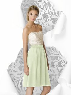 Mint color- Lela Rose