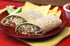 Spicy Black Bean & Avocado Turkey Wrap | Recipes for Healthy Meals, Low-Calorie Snacks & More | Hungry Girl