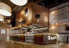 Zapfler Brewery and Restaurant Interior design project located in Shanghai, China