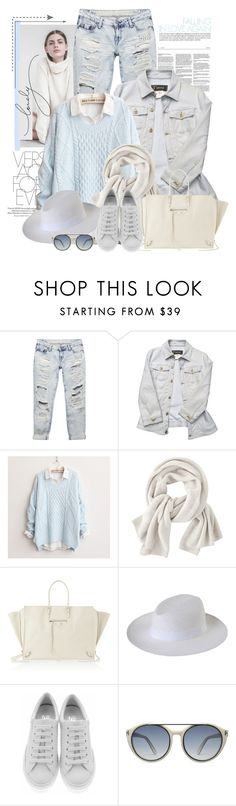 """""""Untitled #2396"""" by bellerodrigues ❤ liked on Polyvore featuring Wet Seal, Versace, Wrap, Balenciaga, 8, Salvatore Ferragamo and Tom Ford"""