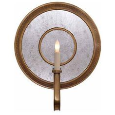 Visual Comfort SR2013HAB Lucy 1 Light Wall Sconce in Hand-Rubbed Antique Brass