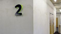 Gourdin & Müller, Universitätsbibliothek Freiburg, University Library Freiburg, Signage, Wayfinding System, Signaletik, Leitsystem, Orientierungssystem, Library, Bibliothek
