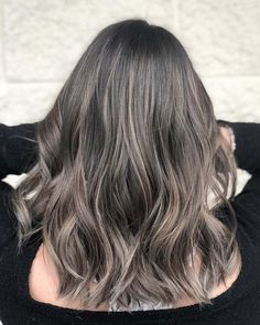 23 Best Ash Brown Hair Color Ideas for 2020 Light Ashy Brown Hair, Ash Brown Hair Balayage, Ash Brown Hair With Highlights, Lighter Brown Hair, Reddish Brown Hair Color, Medium Brown Hair Color, Ashy Hair, Ash Brown Hair Color, Light Hair