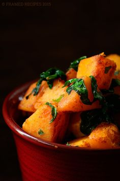 Pan_Roasted_Butternut_Squash_with_Baby_Spinach_DSC5884