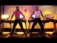 Singer Mya Treadmill Workout. I'm starting to think I'm not working out properly on the treadmill ;)