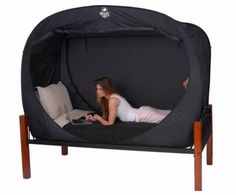 If you're used to perfect darkness in a silent room, this might be a wise investment for your new life-with-roommate!