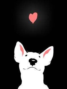#Bull #Terrier by Toasty-Chan.deviantart.com on @deviantART