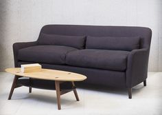 A generous cushioned sofa with a high back available in 3 lengths.