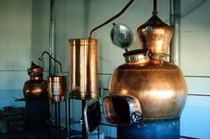 Roundhouse's Boulder distillery copper stills from Portugal