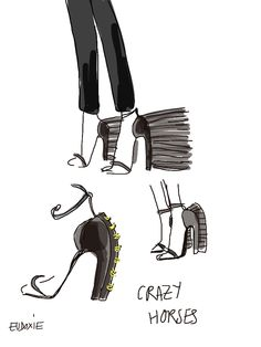 Loewe Hiver 2013-14 – « Pura Raza Española » - shoes by @Eudoxie Dlrdc