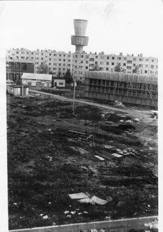 Űrhajós u. Tarján IV iskola építése, 1979