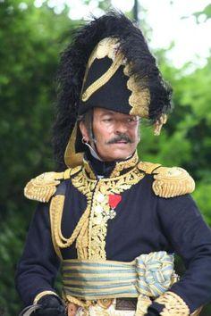 Général de brigade, habit de grand uniforme.  Loving the Bicorn.