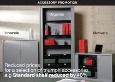 A space for everything - discover Triumph's newly priced steel accessory collection!