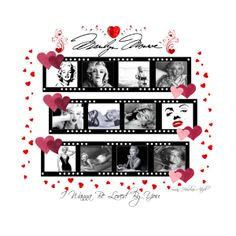"""""""♥ I Wanna Be Loved By You ♥"""" by susan-holsclaw-atwell on Polyvore -- http://youtu.be/WQIvhotZSUw  A Tribute To The One and Only Ms Marilyn Monroe  05.07.2014"""