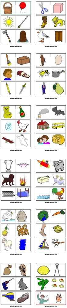 rijmdomino Speech Language Therapy, Speech And Language, Speech Therapy, Language Activities, Toddler Activities, Phonological Awareness, School Items, Therapy Tools, Expressions