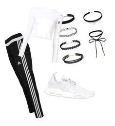 """Untitled #9"" by fashionblogger18 on Polyvore featuring adidas, Proenza Schouler and adidas Originals"
