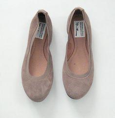 SALE U.S. 9-510/E.U.41/Leather ballet flatswomen by EATHINI