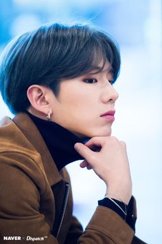 """[HD PHOTO] MONSTA X's Christmas song ""Lonely Christmas"" Release - Kihyun Source: Naver x Dispatch """