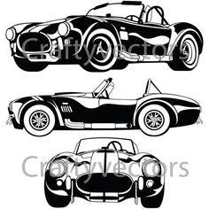 1967 Shelby Cobra, Ac Cobra 427, Car Silhouette, Silhouette Vector, Silhouette Studio, Car Vector, Vector File, Plasma Cutter Art, Skull Stencil