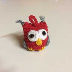 Eule Amigurumi Rainbow Loom Tutorials, Crochet Earrings, Amigurumi, Owl