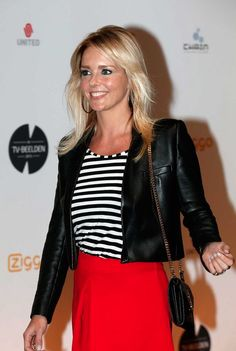 Chantal Janzen Dutch celeb, TV host, musical actress.
