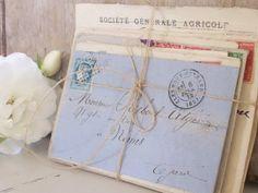 lovely old letters. Letter I, Letter Writing, Vintage Love, Vintage Books, Vintage Romance, Vintage Cards, Vintage Style, Old Letters, Letters Mail