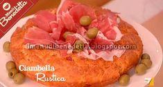 Ecco la ricetta della Ciambella Rustica, uno dei cavalli di battaglia di Benedetta Parodi per preparare un antipasto gustosissimo, da serv...