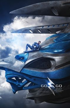 'Power Rangers' Get Five New Posters Before NYCC Appearance: Photo The guys of Power Rangers show off their Zords in these cool new posters for the flick. Lionsgate debuted the five new posters with the stars -- Becky G, RJ Cyler,… Power Rangers 2017, Power Rangers Poster, Go Go Power Rangers, Rita Repulsa, Pawer Rangers, Rangers News, Hd Movies, Movie Tv, Movies And Tv Shows