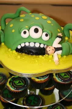 Slime Monster photo Ben10SlimeMonsterCake036.jpg