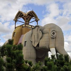 Lucy the Elephant New Jersey Weird roadside attractions of America - is this still there?
