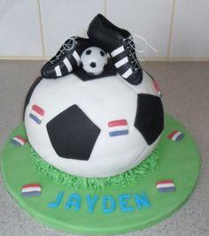 Voetbal taart!