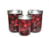365 Days of Creative Canning: Day 76: Whole Cherries in Syrup