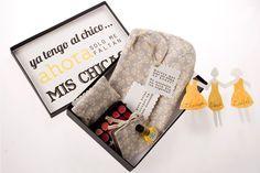 Ideas para regalar a las futuras damas de honor de la boda: Una caja sorpresa-TRAPO Y TELA