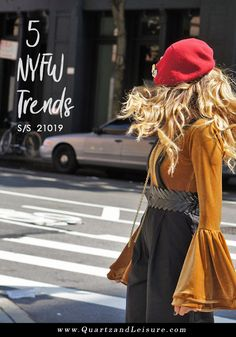 5 NYFW trends for SS