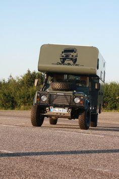Land Rover Autocaravana
