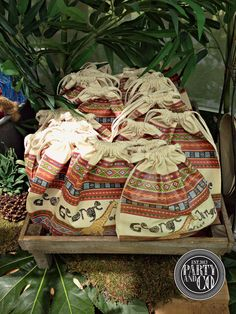 Favors at a Jungle Party #jungle #party