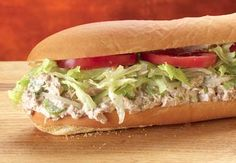 On TUNA TUESDAY, get a tuna salad sub, chips and a drink for $5.99!
