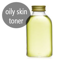 oily skin toner To clear and prevent acne as well as lighten the scars use a natural homemade toner. Mix 1 cup green tea along with 1/2 cup apple cider vinegar and use it as a toner to deep clean the pores, reduce oils and fight acne. The toner also helps to reduce scar and even out the skin tone for a clear complexion.
