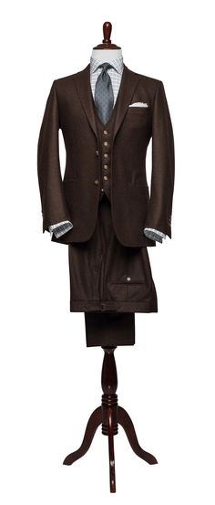 Articles of Style: cherrywood flannel suit