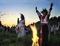 Slavic neo pagans
