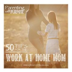 50 tips for the Work at Home Mom, advice & help for WAHM | Karen Stott