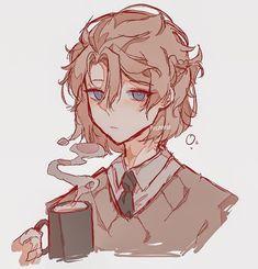 Albedo, Pretty Art, Cute Art, Character Inspiration, Character Art, Cute Anime Guys, Art Reference Poses, Cute Drawings, Cartoon Art