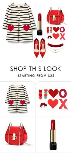 """Untitled #5"" by seslianea ❤ liked on Polyvore featuring Lancôme and Charlotte Russe"
