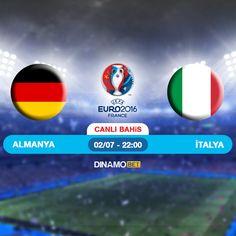 EURO 2016 yarı final müsabakası için takımlar belli oluyor. Etkili bir performans sergileyen Almanya, E Grubunu Lider tamamlayan İtalya ile karşı karşıya gelecek. Karşılaşmada, Macar hakem Viktor Kassai görev alacakEN YÜKSEK ORANLAR ile DinamoBET'te... https://www.dinamobet4.com/tr#/
