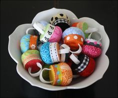 Pincushion Ring Tutorial - A bowl full of goodness