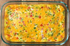 Baked Denver Omelet | Cooking Classy...great for brunch when you don't want to stand there making eggs to order