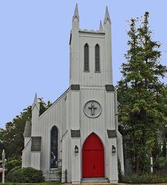 Grace Episcopal Church, CA 1853, Canton