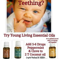 Young Living Essential Oils: Teething