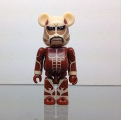 Attack on Titan bearbrick series27 medicom japan designer toy be@arbrick 2.75 inches tall
