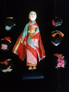 japanese DOLL, ANTIQUE doll, the Hanako, collectable items, giesha girl,'the hanako' TRADE mark
